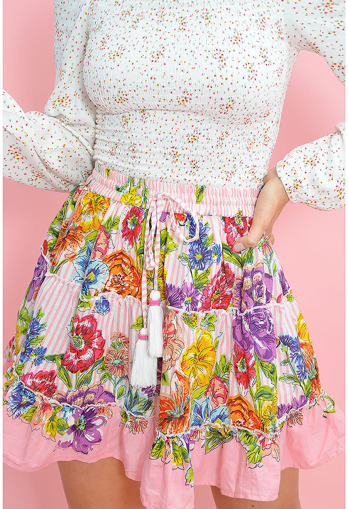 Blushing Blooms Skirt