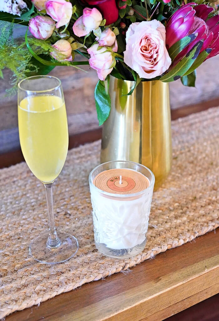 Rewined Mimosa 9oz Candle