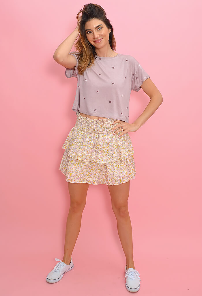 KK Bloom Love Is In the Air Skirt