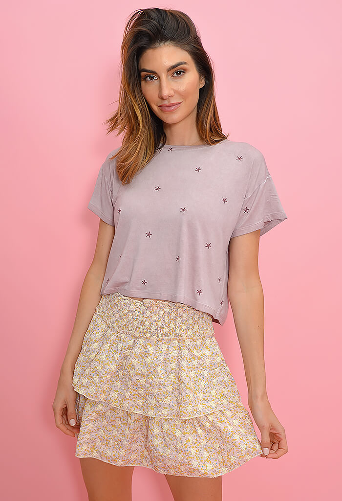 KK Bloom Washed Star Tee