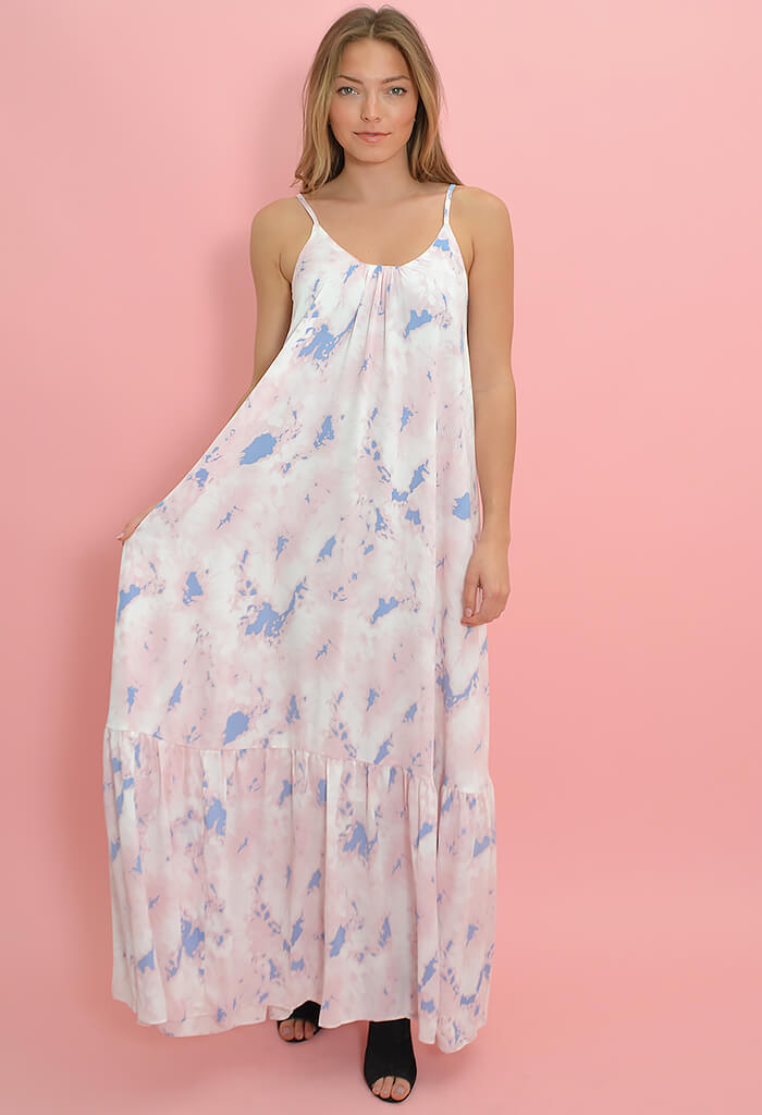 Buddy Love Katey Maxi Dress-Wisteria