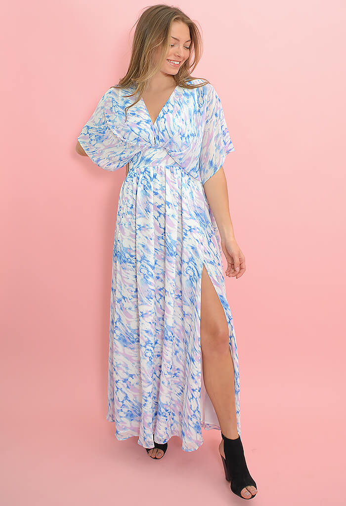 Buddy Love Evelyn Maxi Dress-Marble