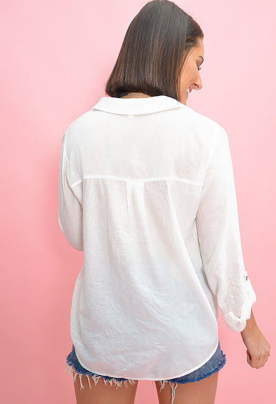 Oyster Roast Blouse