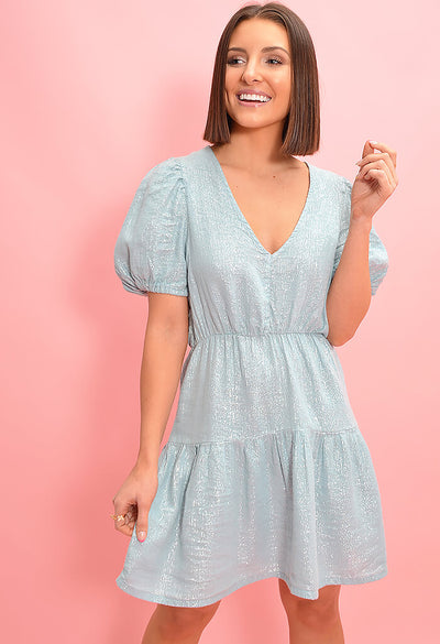 Seafoam Mini Dress