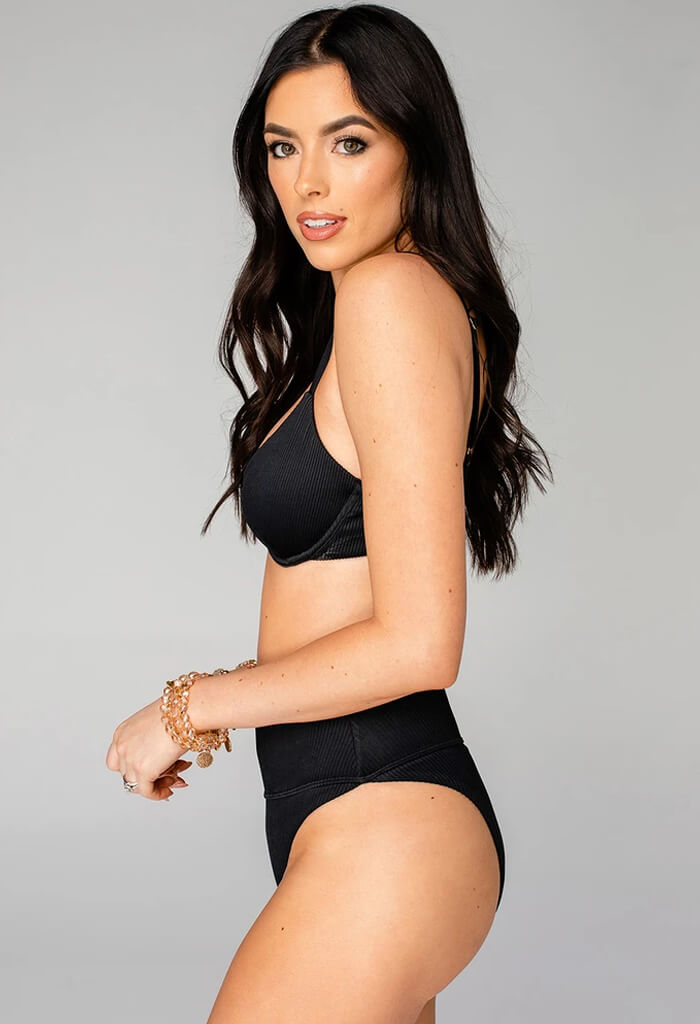 Buddy Love Pippa High Waisted Bikini-Black