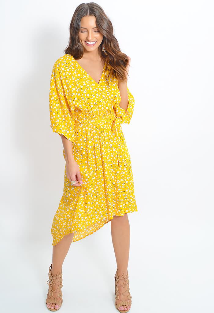 Summer Daisy Midi Dress