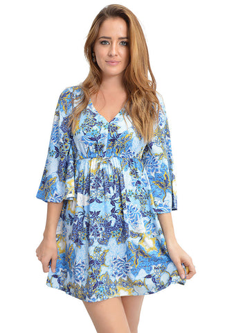 Faira Cornflower Dress