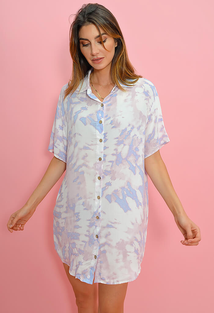 KK Bloom Cotton Candy Cloud Dress
