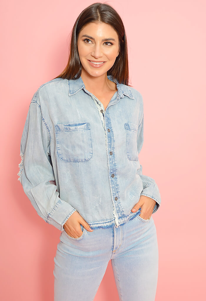Bubble Bath Denim Shirt