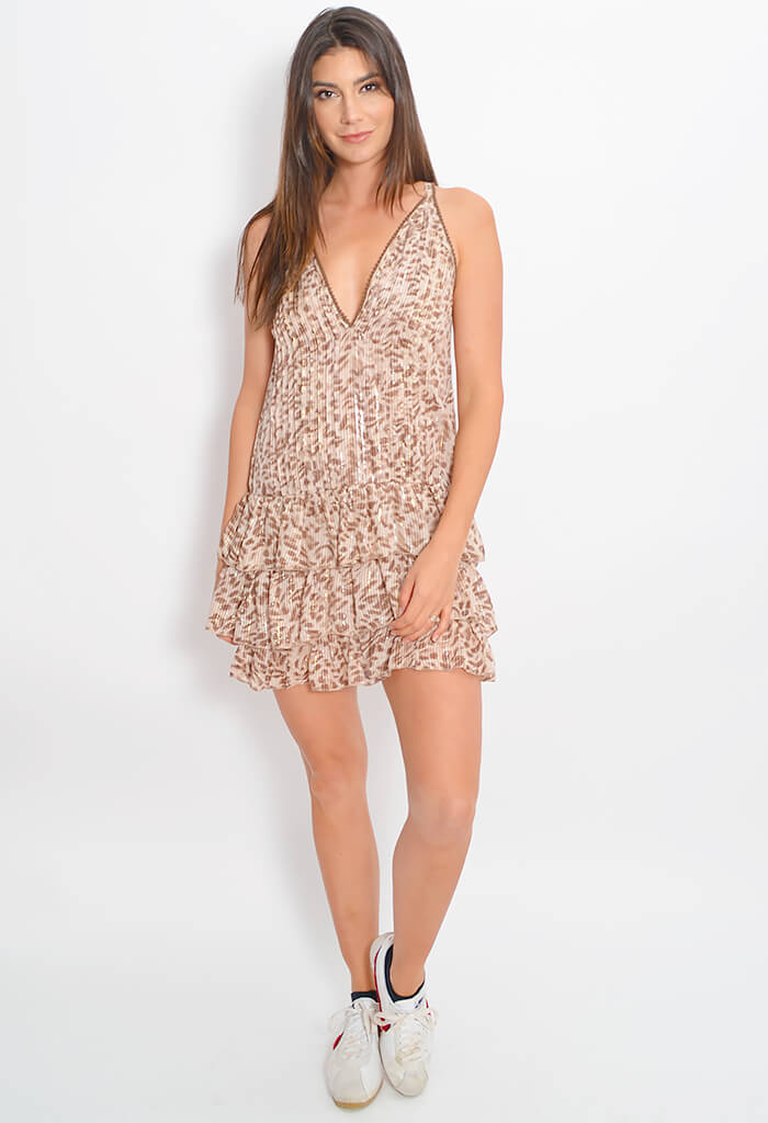 Sophia Ruffle Dress