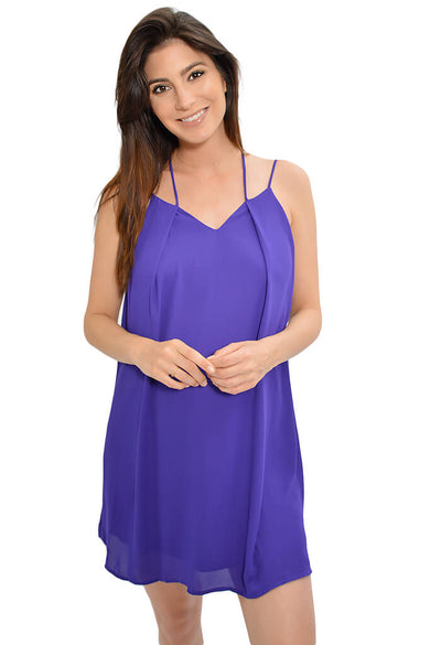 Sweet Tart Dress - Purple