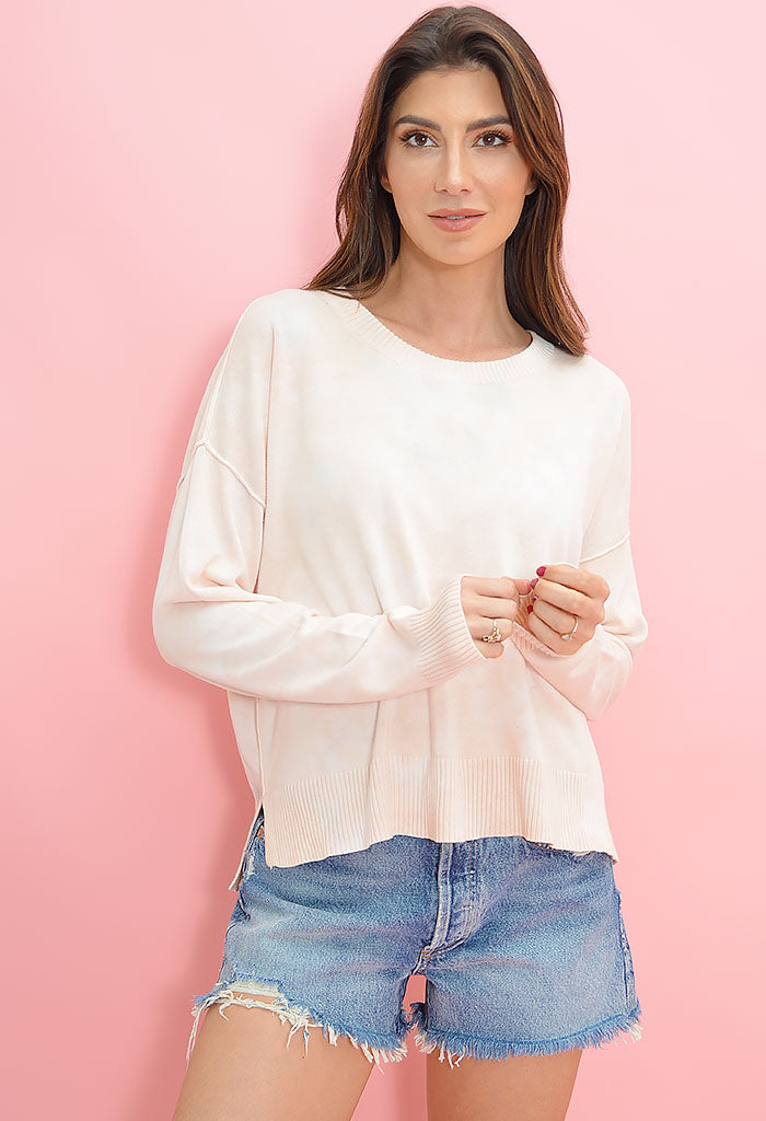 Peachy Sunsetter Sweater