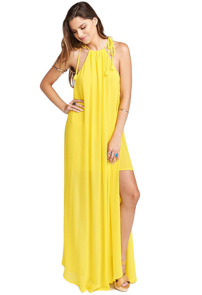 Show Me Your MuMu Rochester Maxi in Daffodil-front