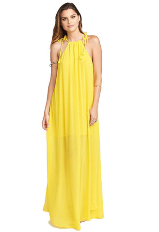 Rochester Maxi Dress - Daffodil