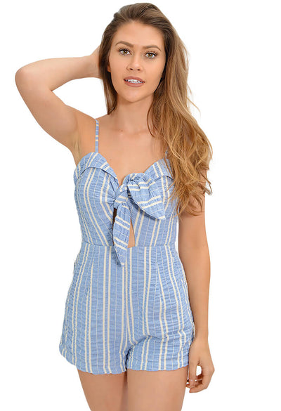 Lost and Wander Waves Romper - KK Bloom Boutique