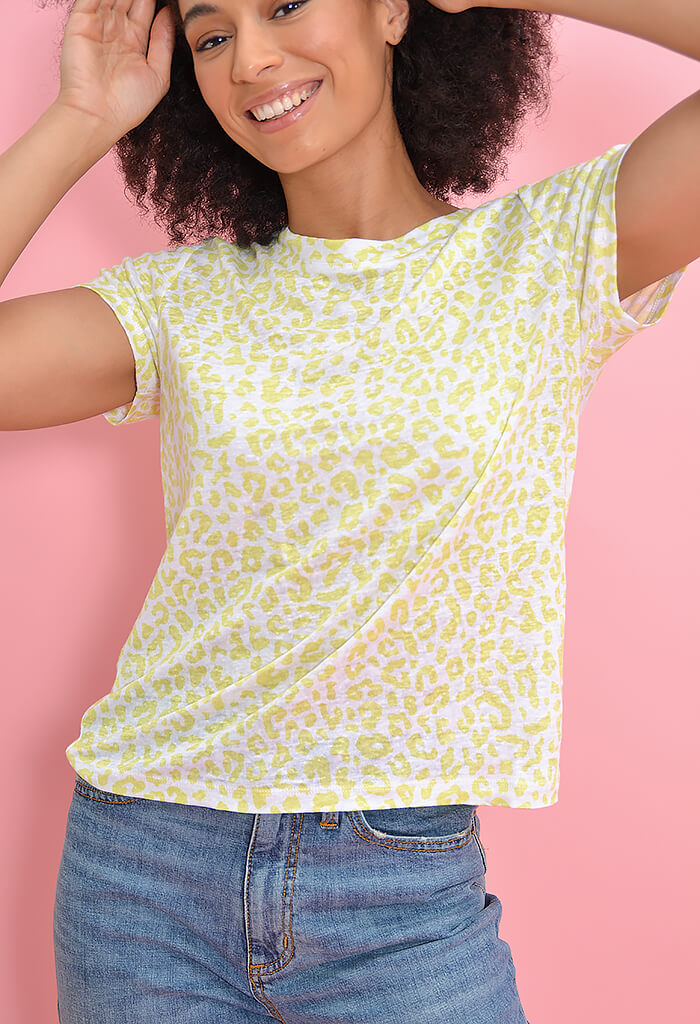 Sanctuary Clothing The Perfect Tee-Lime