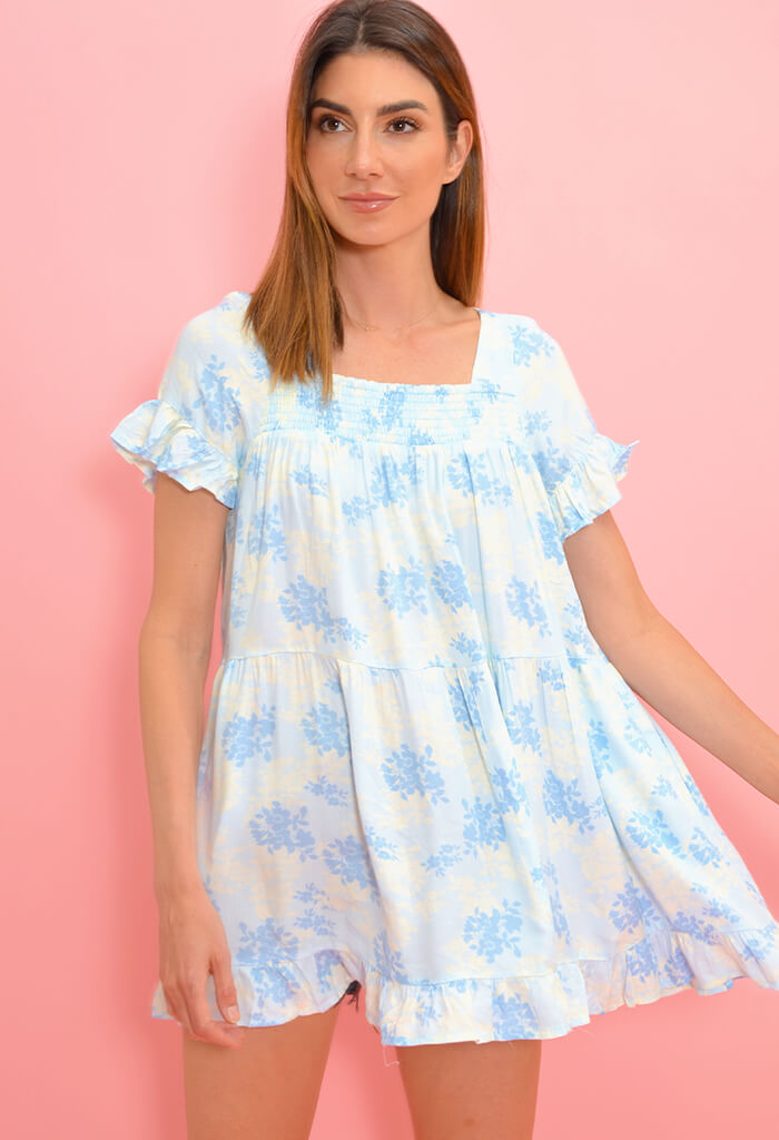 KK Bloom Twirl Tunic Dress