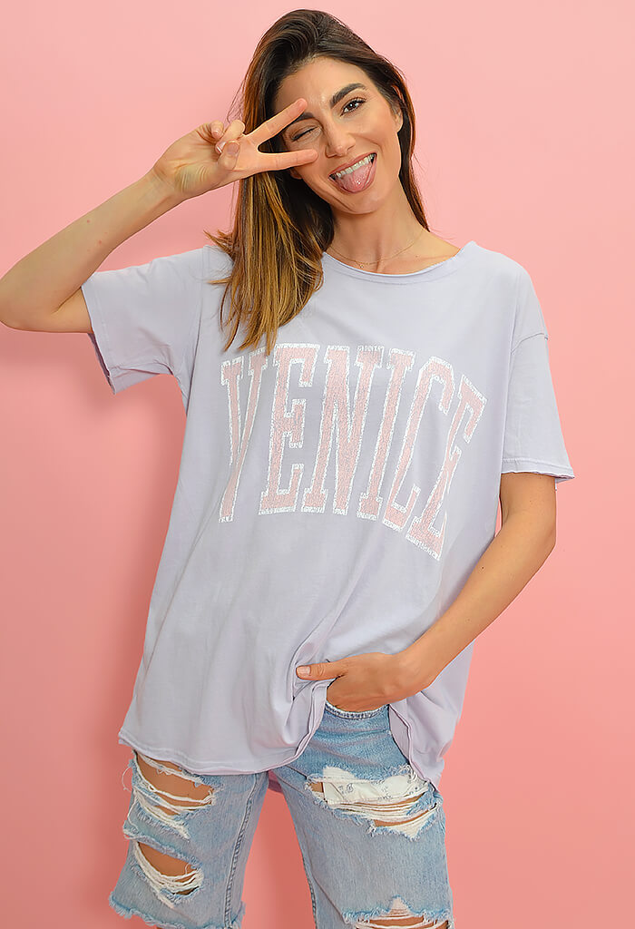 Show Me Your Mumu Airport Tee-Venice Graphic