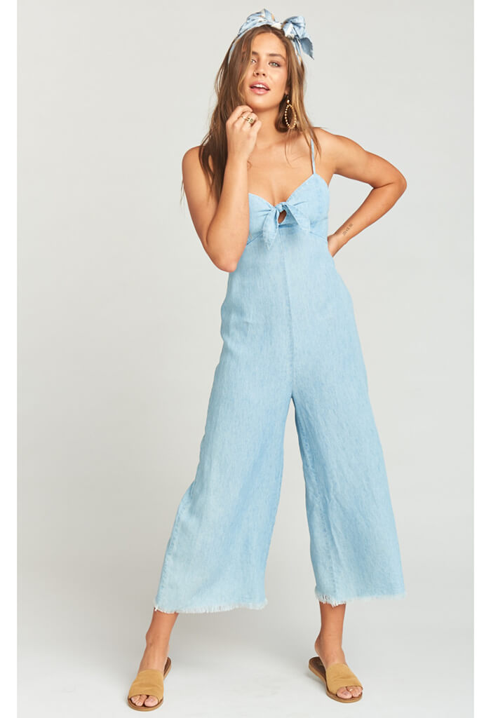 Paolo Playsuit-Shore Chambray