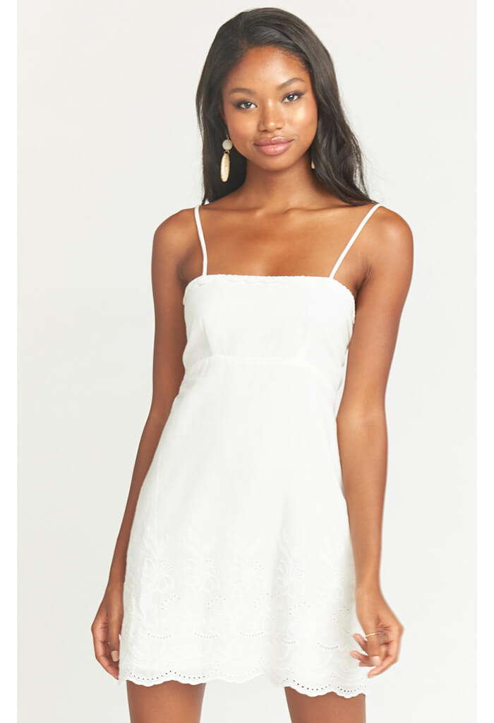 Esperanza Dress-Amalfi Eyelet