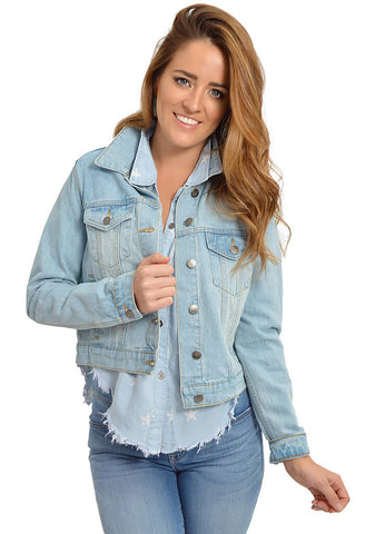 Light Up Denim Jacket