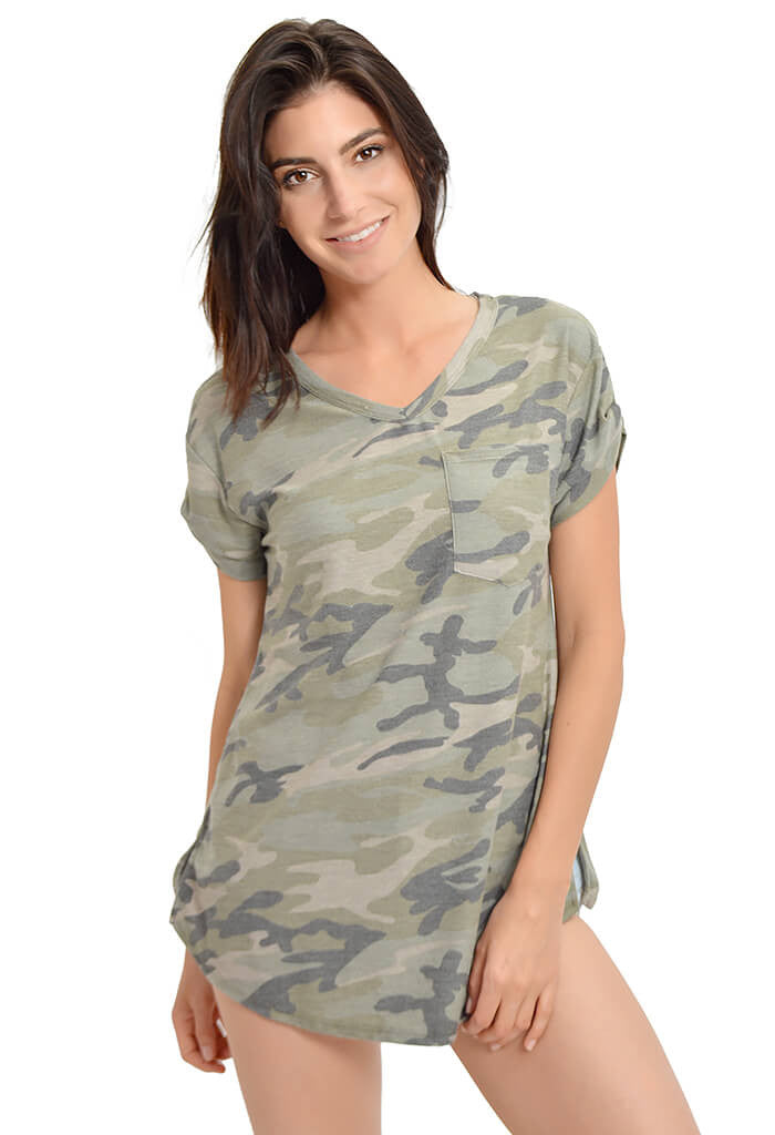 Simply Camo Tee-front