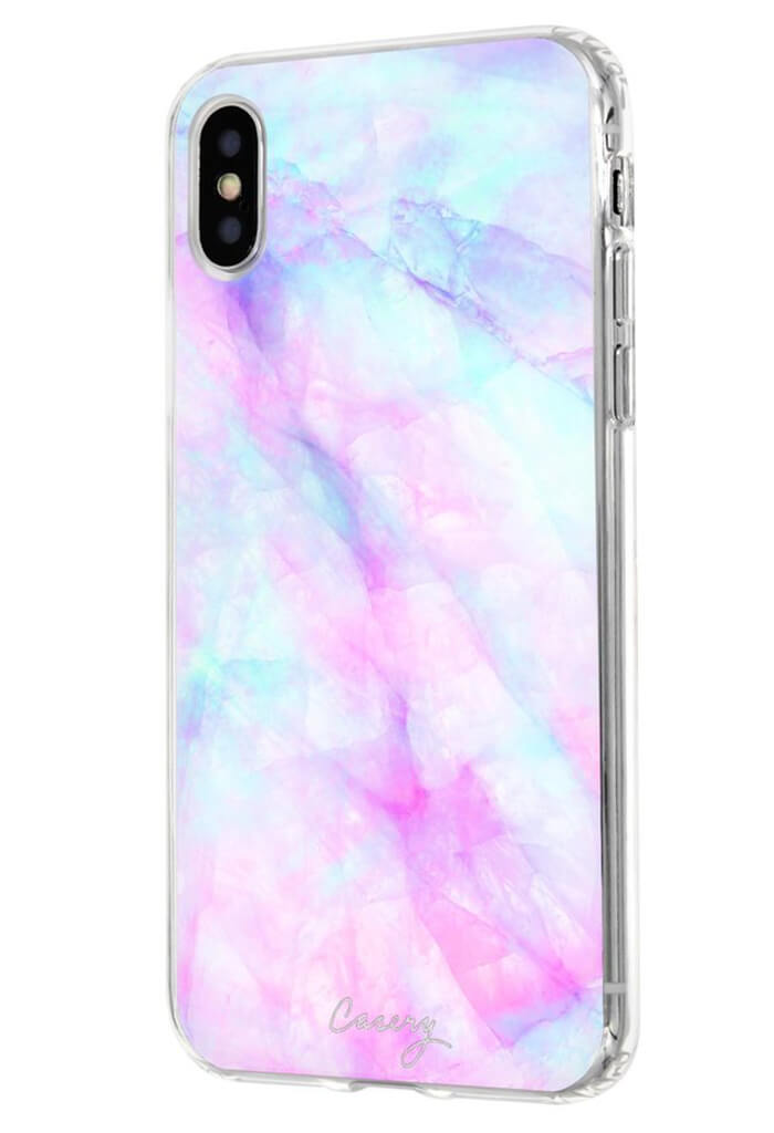 Iridescent Crystal iPhone X CASE
