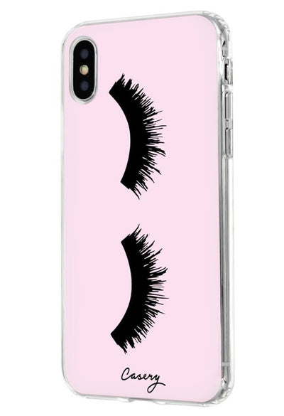 Lashes iPhone X Case