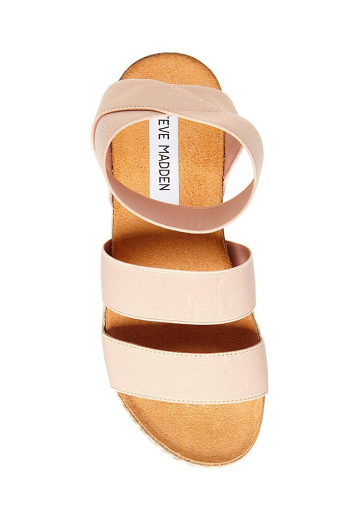 Kimmie Blush Sandal Wedge