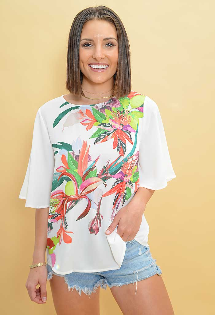 Birds of Paradise Blouse