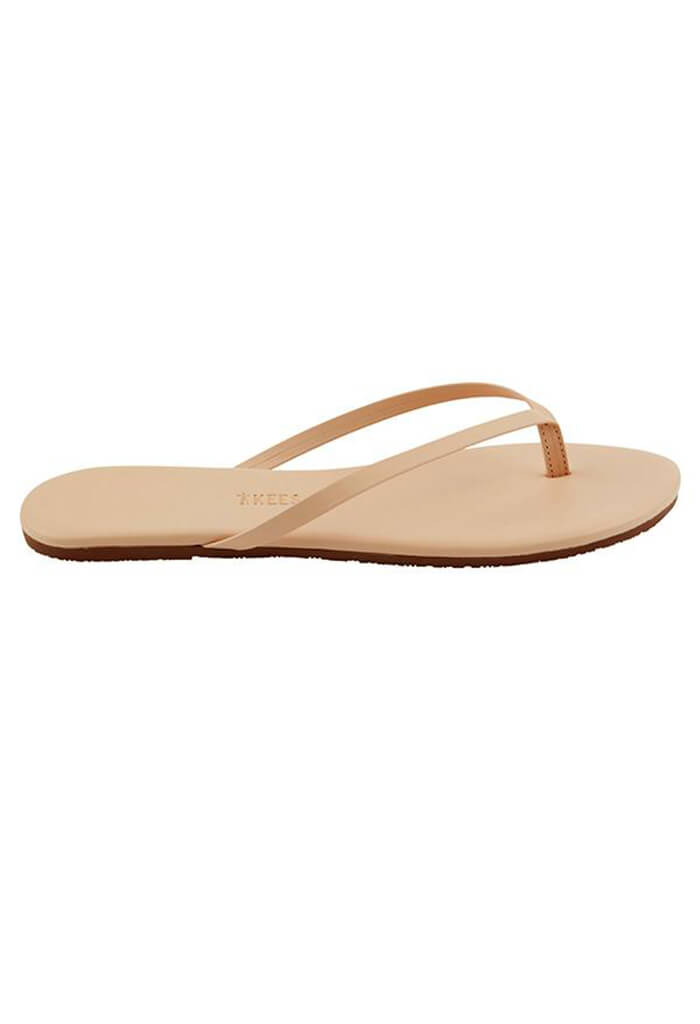 Foundation Leather Flip Flops-Sunkissed