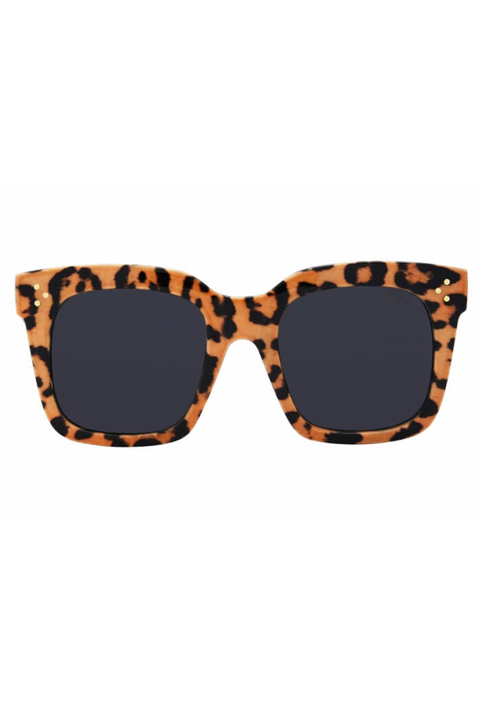 ISEA Sunglasses Waverly-Leopard Smoke