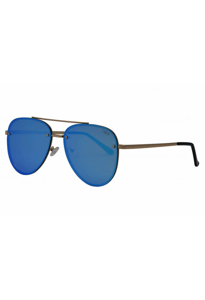 ISEA Sunglasses River-Gold/Ice Blue