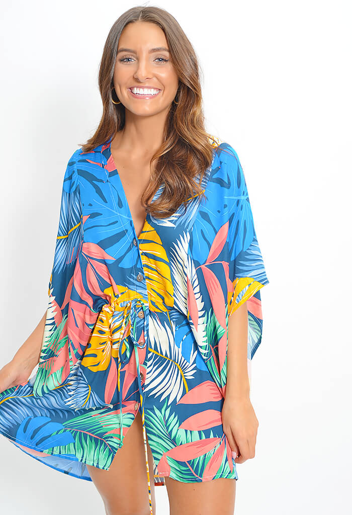 Paradise Dress - Tropical
