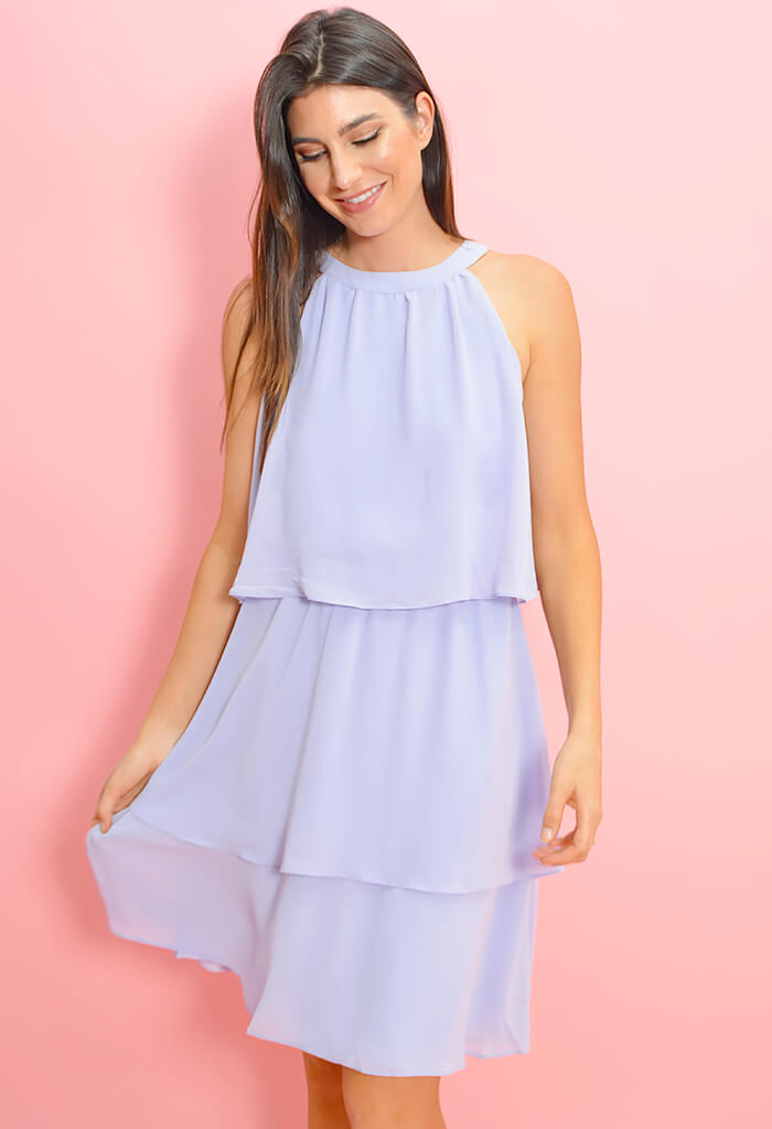 Livia Dress-Lavender