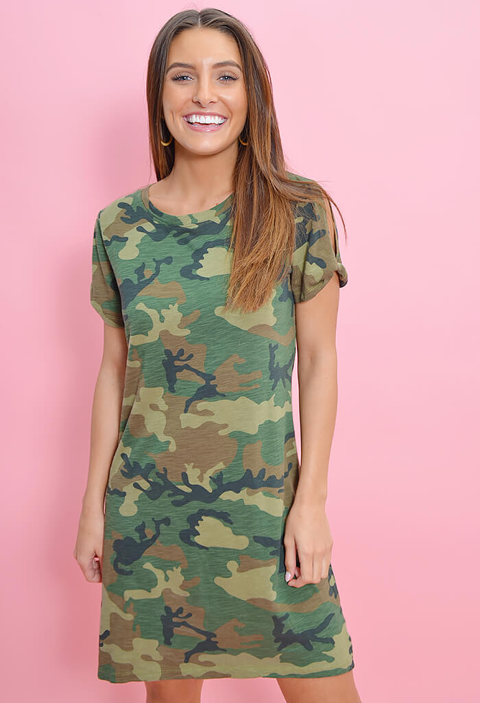 So Twisted T-Shirt Dress