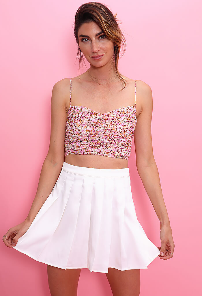 Minkpink Delphine Crop Top
