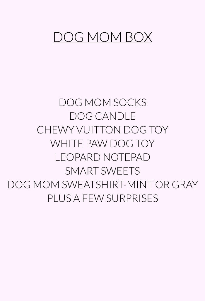 Dog Mom Box