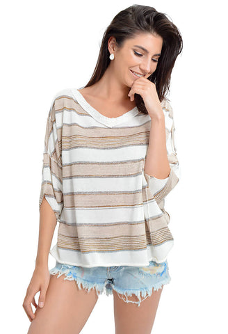 Love Me Too V-neck Sweater