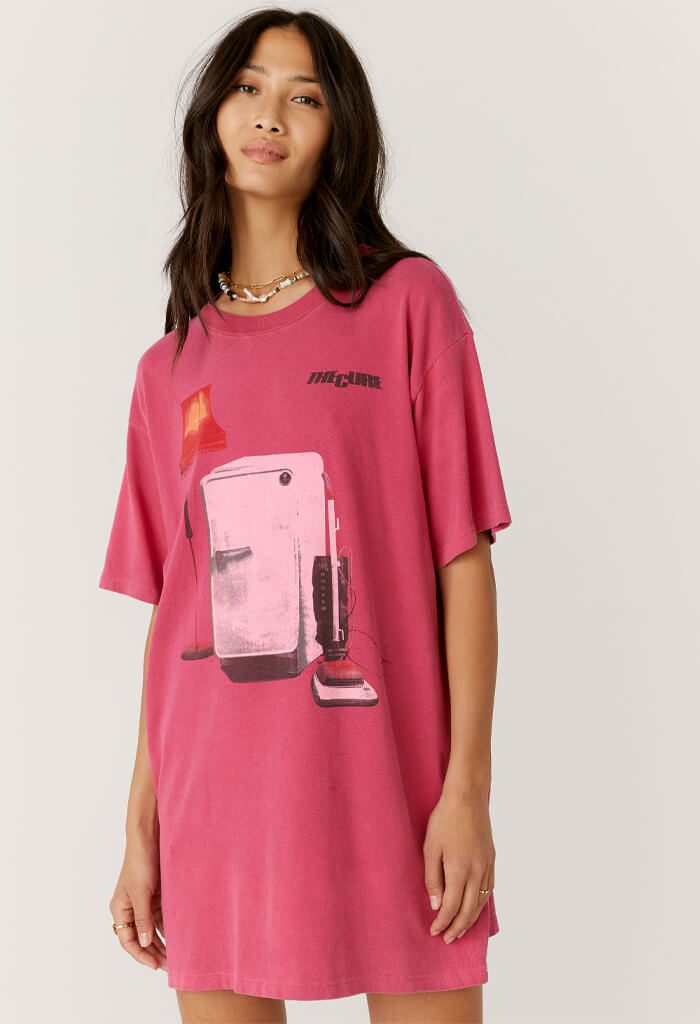 Daydreamer The Cure Imaginary Boys T-Shirt Dress