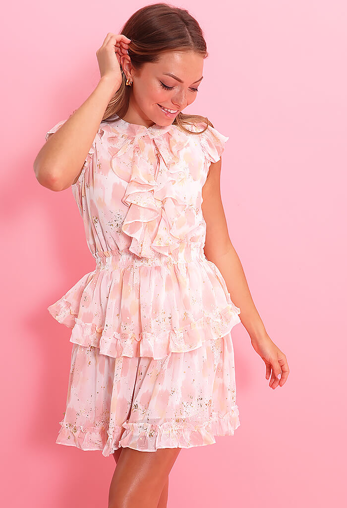 Buddy Love Astrid Dress-Honeysuckle