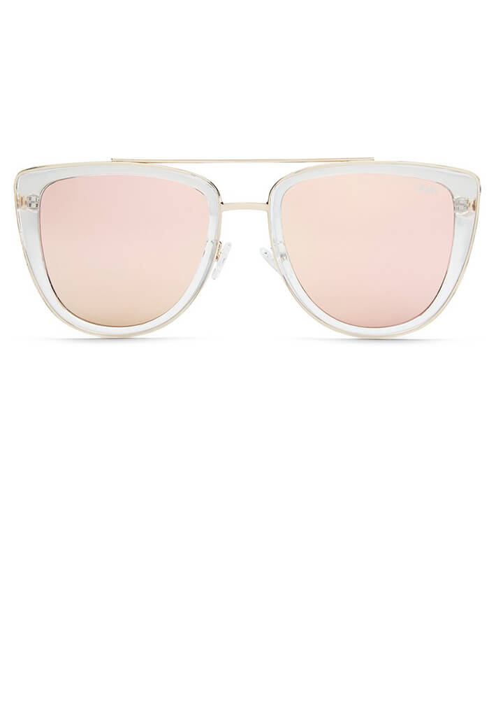 French Kiss Sunglasses in Rose Gold