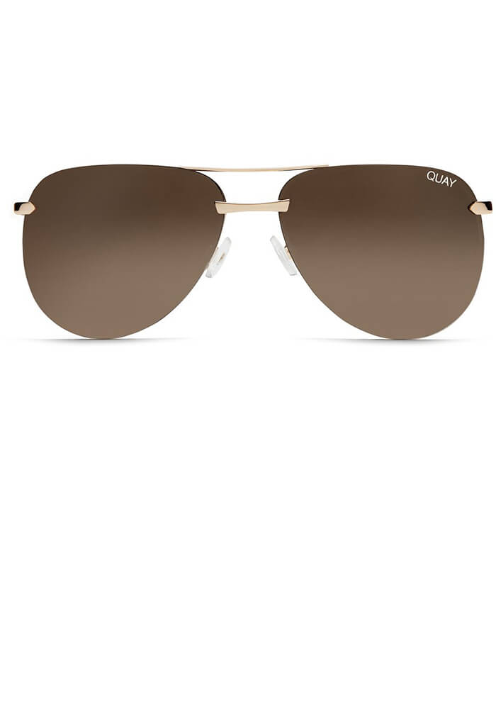 The Playa Sunglasses in Gold