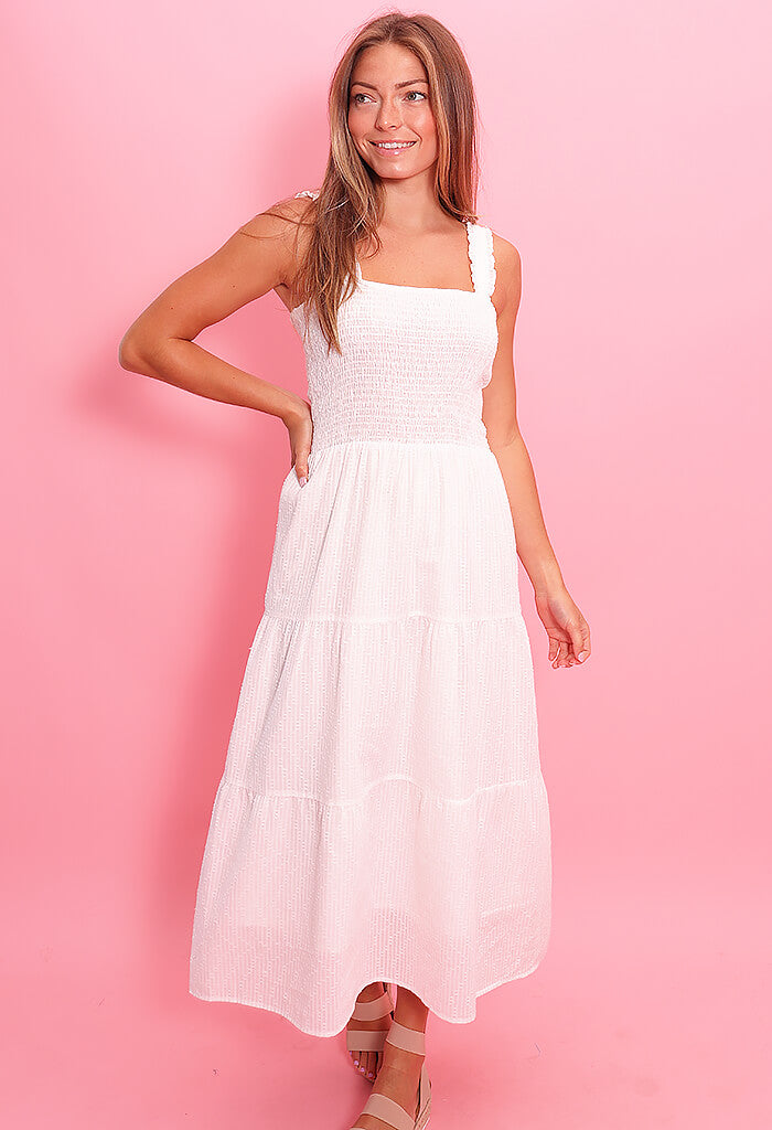 heartloom Kiera Dress-Eggshell