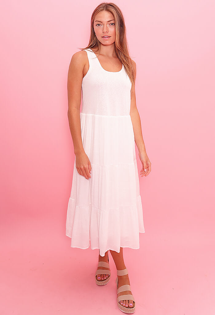heartloom Pryce Dress-Eggshell