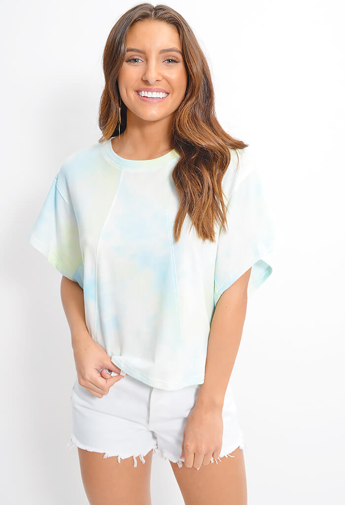 Mint Sherbet Top-Aqua