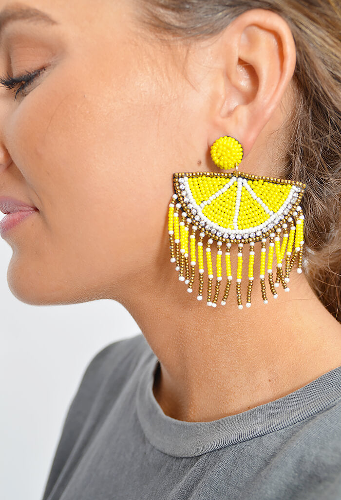 Lemons Earrings