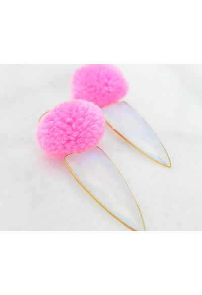 Moonstruck Earring - Party Pink