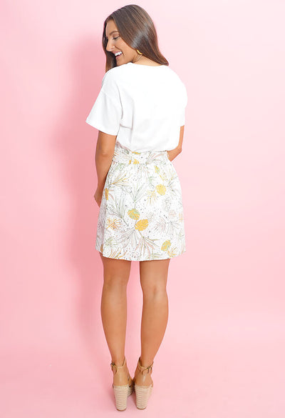 Wild Coast Paperbag Mini Skirt