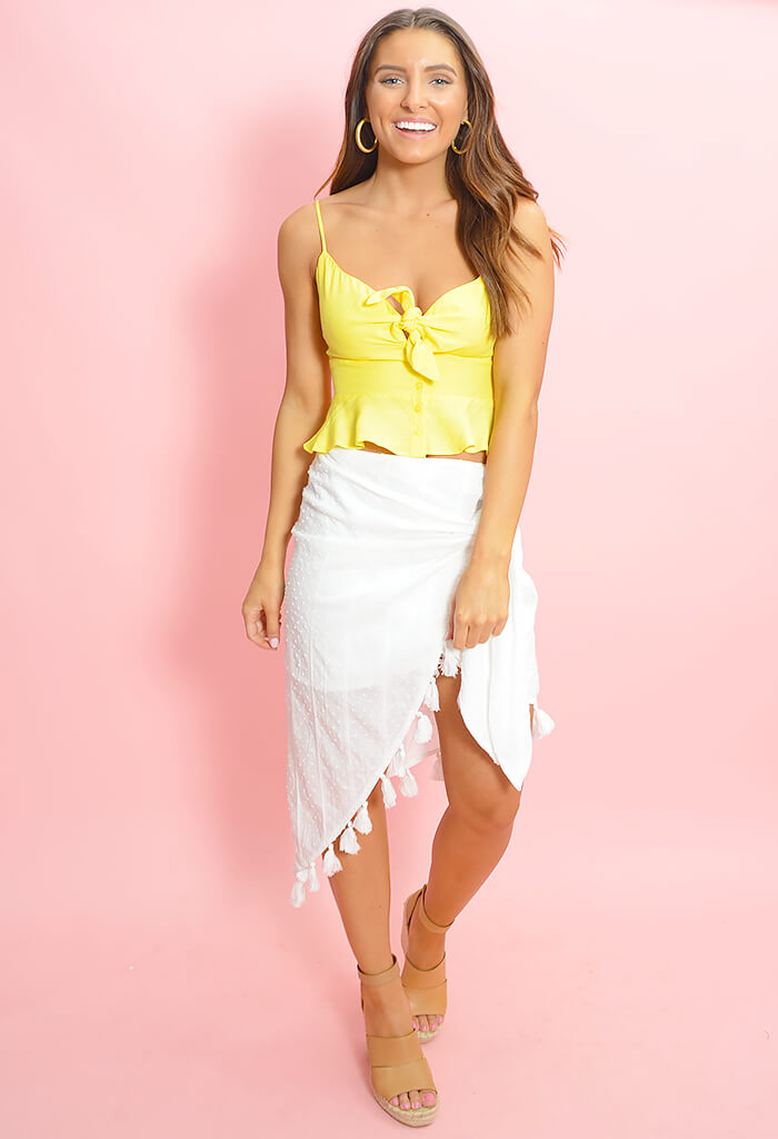 e72a34c26bf8f Shady Sarong Skirt-White - KK Bloom Boutique